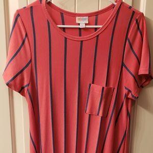 LuLaRoe Carly Tunic Dress L